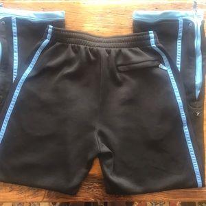 Jordan Pants - Pre Owned Men's Air Jordan Black x Blue Sweatpants